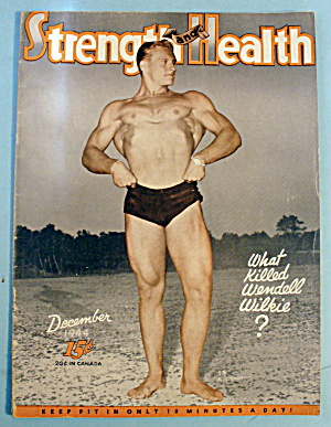 Strength & Health December 1944 Al Steponaitis