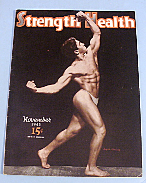 Strength & Health November 1945 Angelo Caminiti