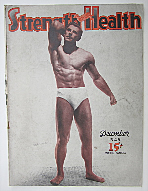 Strength & Health Magazine December 1945 Mike Dubel