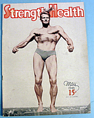 Strength & Health Magazine May 1946 Gene Jantzen