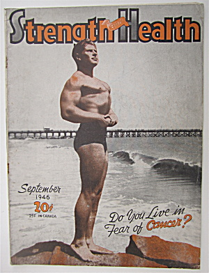 Strength & Health September 1946 Fredric Hacker