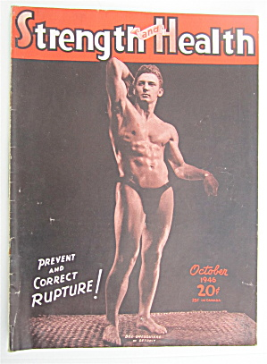 Strength & Health Magazine October 1946 Bill Ghesquiere