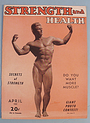 Strength & Health Magazine April 1947 Eric Pedersen