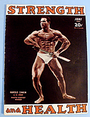 Strength & Health Magazine June 1947 Harold Zinkin