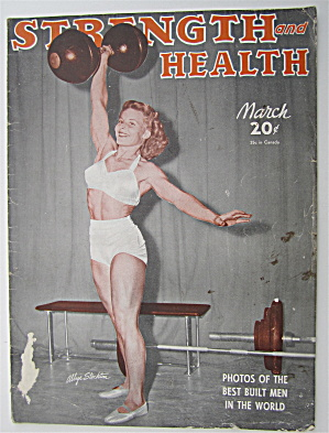 Strength & Health Magazine March 1948 Abbye Stockton