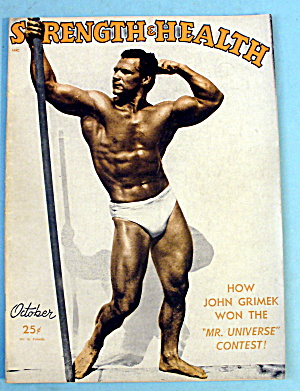 Strength & Health Magazine October 1948 John Grimek
