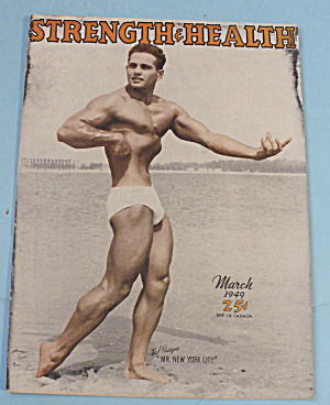 Strength & Health Magazine March 1949 Val Pasqua