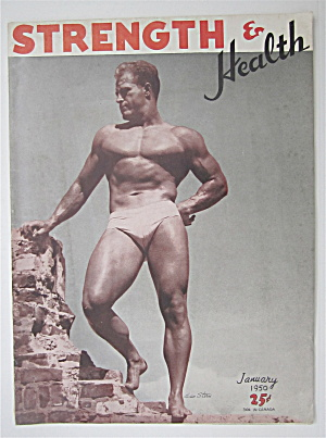 Strength & Health Magazine January 1950 Leo Stern