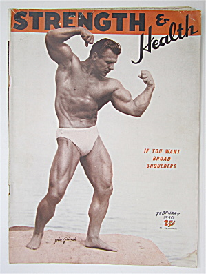 Strength & Health Magazine February 1950 John Grimek
