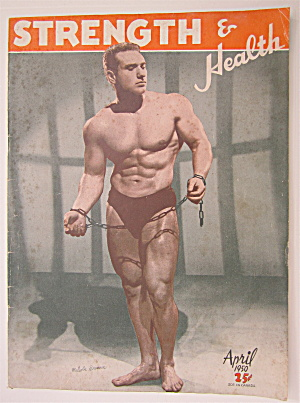 Strength & Health Magazine April 1950 Malcolm Brenner