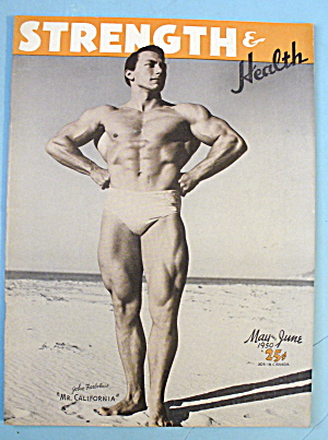 Strength & Health Magazine May 1950 John Farbotnik