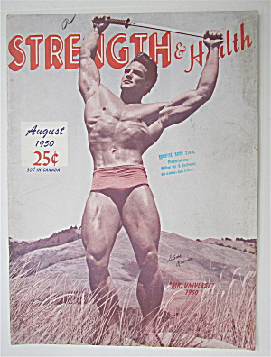 Strength & Health Magazine August 1950 Steve Reeves