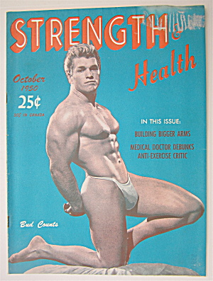 Strength & Health Magazine October 1950 Bud Counts