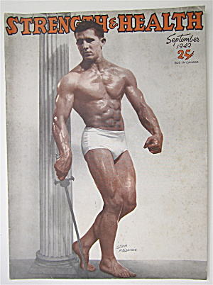 Strength & Health September 1949 Steve Klisanin