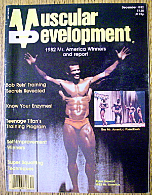 Muscular Development-december 1982-rufus Howard
