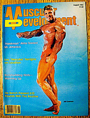 Muscular Development-august 1983-jeff Everson