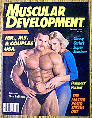 Muscular Development-february 1986-tim & Tina Belknap