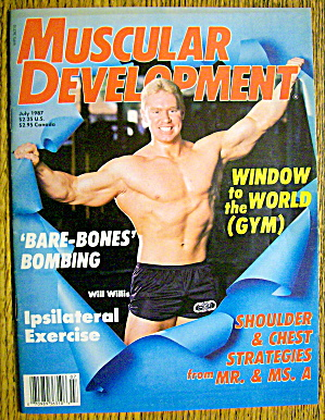 Muscular Development-july 1987-will Willis