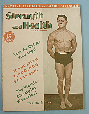 Strength & Health Magazine December 1936 Joe Florito