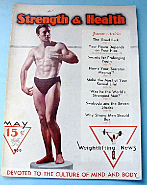 Strength & Health Magazine May 1938 Emil Bonnett