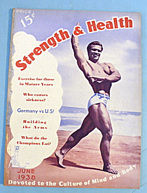 Strength & Health Magazine June 1938 John Grimek