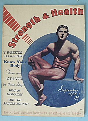 Strength & Health Magazine September 1938 Ed Zebrowski