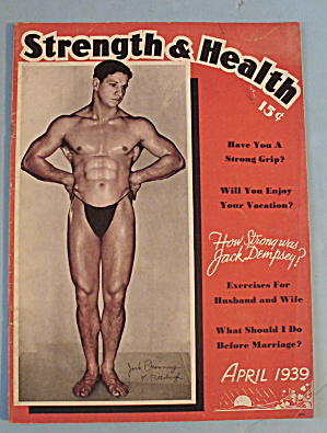 Strength & Health Magazine April 1939 Jack Channing