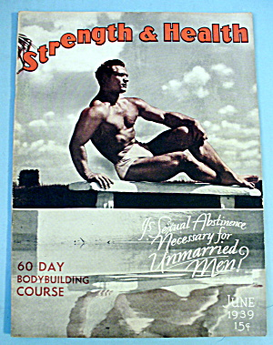 Strength & Health Magazine June 1939 John Grimek