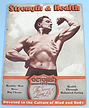 Strength & Health Magazine October 1939 John Terpak