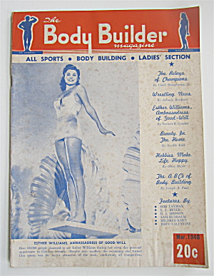 Body Builder Magazine March 1948 Esther Williams
