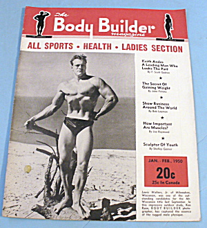 Body Builder January-february 1950 Lewis Walters