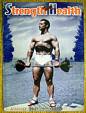 John C Grimek-1941 Strength & Health Magazine Cover
