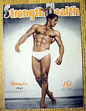 Bob Best 1943 Strength & Health Magazine Cover