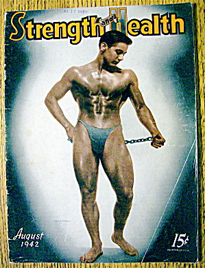 Howard Eastman 1942 Strength & Health Magazine Cover