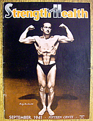 Rudy Gambacorta 1941 Strength & Health Magazine Cover
