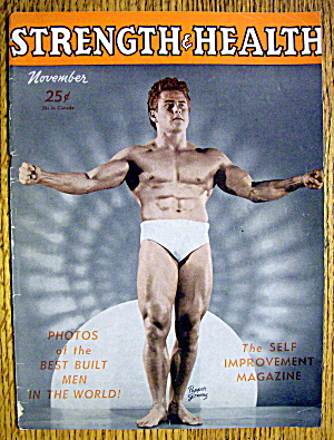 Pepper Gomez 1948 Strength & Health Magazine Cover