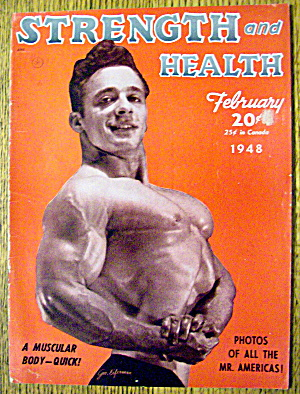 George Eiferman 1948 Strength & Health Magazine Cover