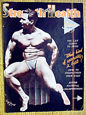 Barton Horvath 1940 Strength & Health Magazine Cover