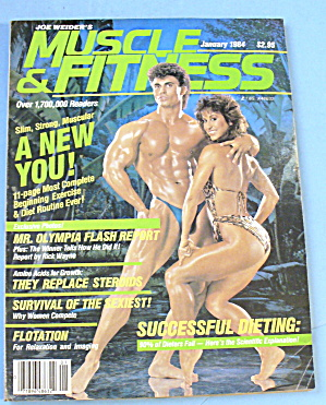 Muscle Fitness Magazine January 1984 Rory Liedelmeyer