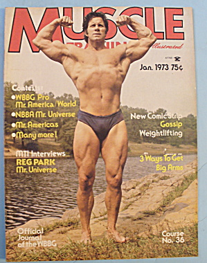 Muscle Training Magazine January 1973 Reg Park