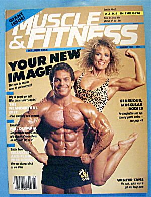 Weider Muscle & Fitness February 1986 Rich & Lori