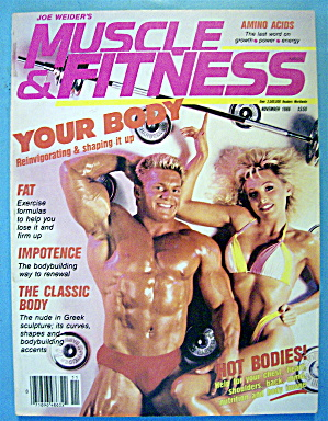 Weider Muscle & Fitness November 1986 Chris & Troy