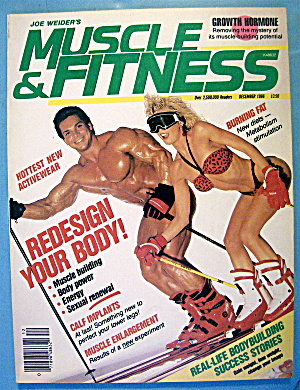 Weider Muscle & Fitness December 1986 Jane & Rich