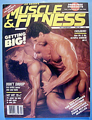 Weider Muscle & Fitness April 1987 Diana & Kevin
