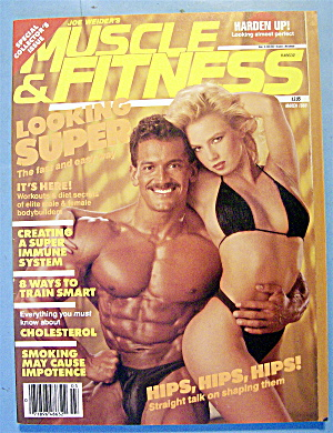 Weider Muscle & Fitness Magazine March 1988 Lee & Nora