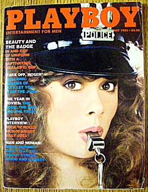 Playboy Magazine-may 1982-kym Malin