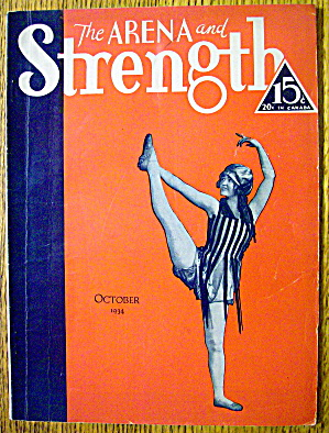 The Arena And The Strength Magazine October 1934