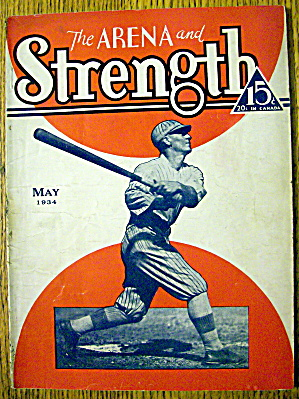 The Arena And The Strength Magazine May 1934 (Image1)