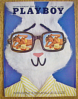 Playboy Magazine-june 1967-joey Gibson