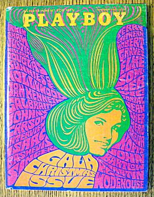 Playboy Magazine-December 1967-Lynn Winchell (Image1)